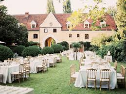 Wedding In The Backyard Summer Love Wedding In Austria Ruffled