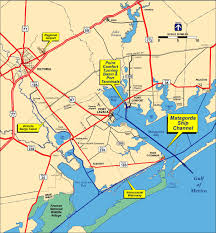 Refineries In Usa Map by Calhoun Port Authority Point Comfort Texas Usa