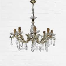 Antique Glass Chandelier Antique Glass Chandelier Salvoweb Com