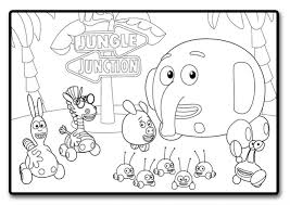 jungle coloring pages stunning jungle scene coloring pages az