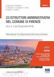 maggioli editore sede 23 istruttori direttivi amministrativi nel comune di firenze aa