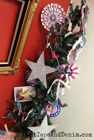 celebrate july 4th with a diy patriotic christmas tree