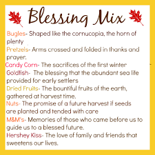 thanksgiving blessing mix in the green house