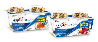 yoplait light yogurt ingredients yoplait light with granola yogurt
