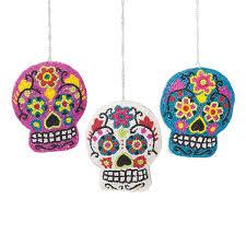 beaded sugar skull ornament a 3 c u0026f home