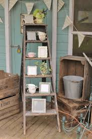 Wooden Ladder Bookshelf Plans the 25 best vintage ladder ideas on pinterest wooden ladder