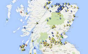 Dgoogle Maps Eine Karte Aller Schottischen Destillerien Auf Google Maps