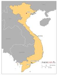 Asia On Map by Interesting And Fun Facts About Vietnam Pakse Cafe