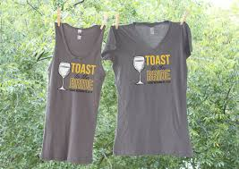 toast to the bride wine themed charcoal and marigold