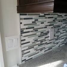 Outlet Covers For Glass Tile Backsplash by Emser Tile With Schluter Edge To Finish It Off Nicely How To End