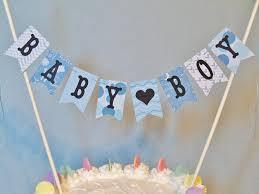 gender reveal cake topper gender reveal cake topper baby shower garland baby boy cake