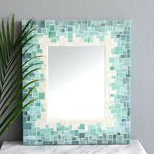 Mosaic Bathroom Mirror Mosaic Bathroom Mirrors Other Mosaic Mirrors Contemporary