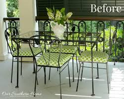 Patio Furniture Makeover Our Southern Home - Southern home furniture
