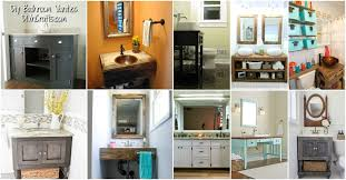 Diy Desk Vanity 20 Gorgeous Diy Bathroom Vanities To Beautify Your Beauty Routine