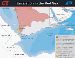 Yemen On World Map by Escalation In The Red Sea Yemen U0027s Civil War Iran And Saudi
