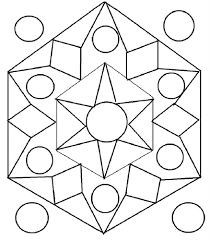 printable design patterns rangoli design coloring printable page
