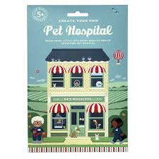 create your own pet hospital activity kit by clockwork soldier