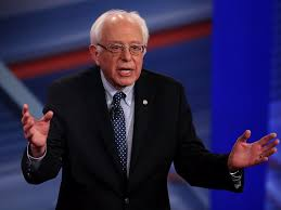 bernie sanders i want donald trump to win nomination business