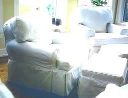oversized chair and ottoman slipcover chair and ottoman covers cbat info