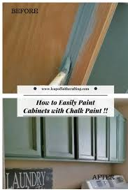 how to make chalk paint for cabinets painting cabinets with chalk paint is so easy cheap