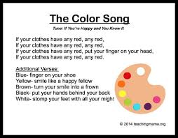 10 preschool songs colors preschool songs songs color