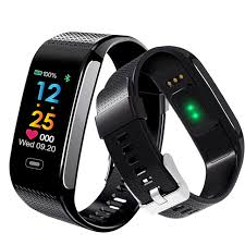 wrist bracelet monitor images Ck18s smart band blood pressure heart rate monitor wrist watch jpg