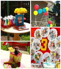curious george party ideas kara s party ideas curious george themed birthday party