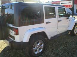 jeep rubicon white 4 door denison car dealer sherman tx u0026 denison used cars fred pilkilton