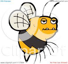 bee cartoon clipart