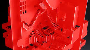 pop up paper craft weds japanese tradition and modern architecture