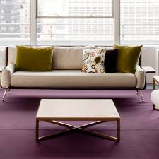 Coffee Table Contemporary by Contemporary Coffee Table Marble Mdf Wood Veneer Knoll