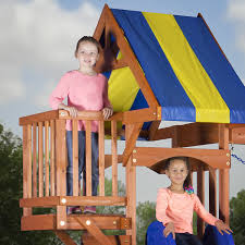 Amazon Backyard Playsets by Amazon Com Backyard Discovery Peninsula All Cedar Wood Playset