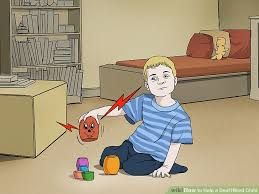 How Do Deaf Blind Communicate 3 Ways To Help A Deaf U2010blind Child Wikihow