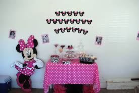 Minnie Mouse 1st Birthday Decorations — All Home Ideas And Decor