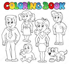 coloring book stock vectors royalty free coloring book