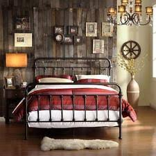 California King Size Bed Frames by Cal King Size Bed Frame Black Vintage Metal Victorian Style