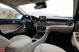 luxury cars interior 2015 mercedes gla 250 review with video
