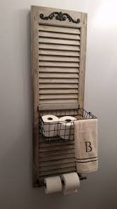 Rustic Bathroom Decor by Best 25 Rustic Toilet Paper Holders Ideas Only On Pinterest