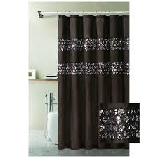 black sparkle shower curtain u2022 shower curtains design
