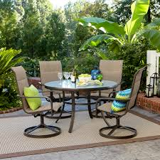 Oasis Outdoor Patio Furniture Garden Oasis Miranda 5 Piece Dining Set