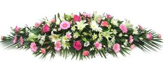 flowers for funerals pink and funeral coffin spray coffin sprays