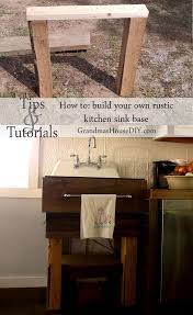 how to make a sink base cabinet how to build your own kitchen sink base building a kitchen