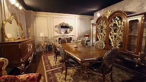 Luxury Furniture New Collections Of Luxury Classic Furniture A Dining Room