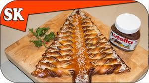 nutella christmas tree u2013 tear and share bread youtube