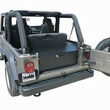jeep wrangler cargo dimensions tuffy 131 01 rear cargo security drawer in black for 04 06 jeep