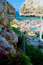 Cave Resturuant Side Of A Cliff Italy by A True Gem Polignano A Mare Italy Wildluxe