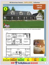 skylar all american modular home ranch collection plan price homes