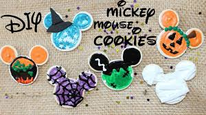 diy american doll mickey mouse cookies youtube