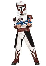 kids deluxe edition commander fox costume clone wars kids costumes