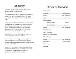 funeral programs order of service how to make a funeral memorial program template funeral